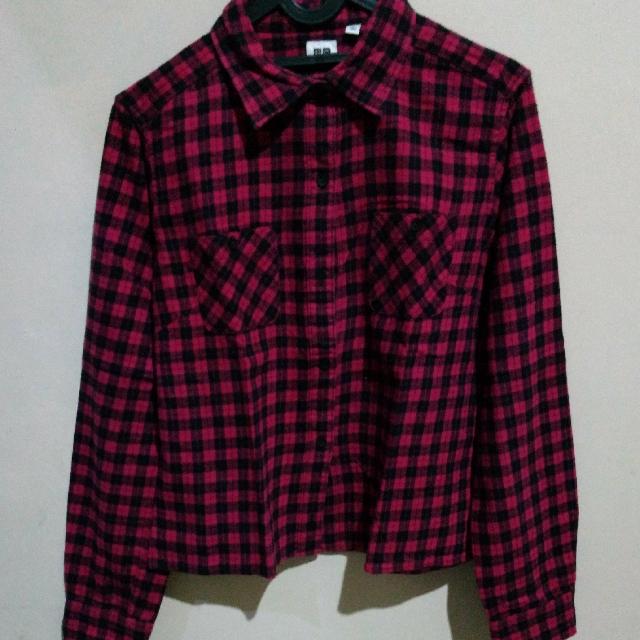 Uniqlo 90's Crop Flannel