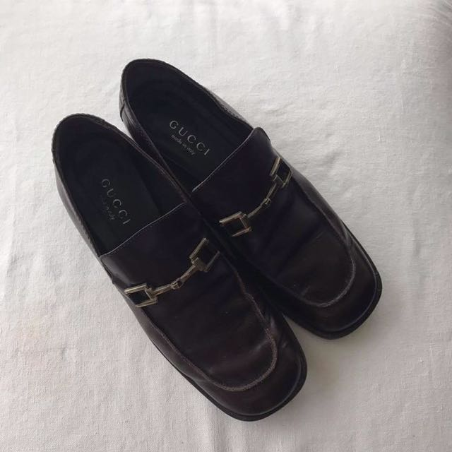 656c310263391 very good condition Authentic gucci horsebit loafers - 38.5- fits ...
