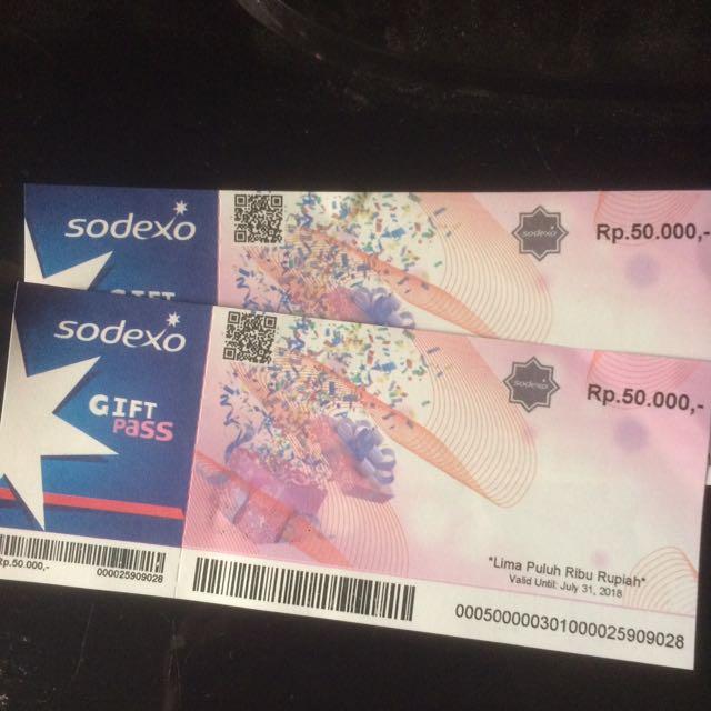 5 Lembar Voucher Sodexo 100000 Daftar Update Harga Terbaru Indonesia Source photo photo .