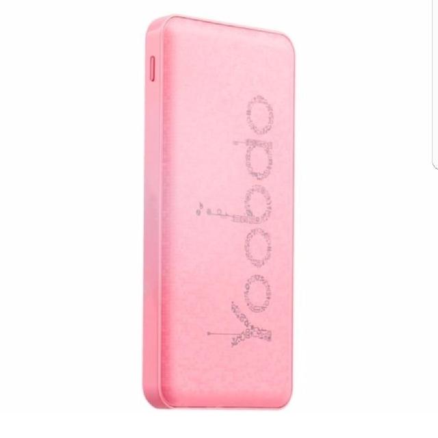 YB-PL12 12000mAh Polymer Powerbank Pink
