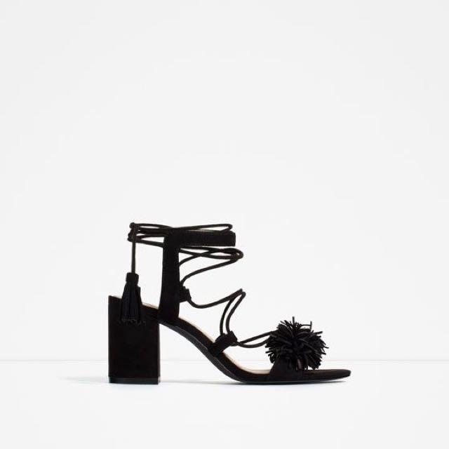 Zara Lace Up Heel