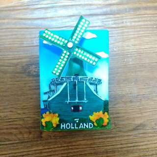 荷蘭風車造型磁鐵