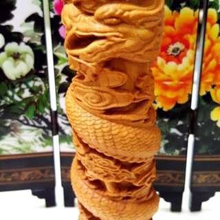 🚚 木龍柱(雕刻品)