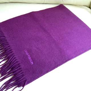 (98%New.Very very soft!)100%Cashmere Louise Vuitton Vintage Scarf 頸巾 圍巾