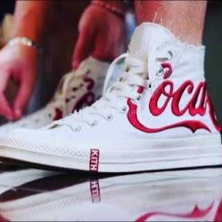 Converse X Coca Cola X Kith