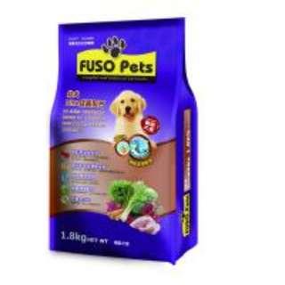 FUSO PETS 機能犬食-幼犬DHA成長 8kg