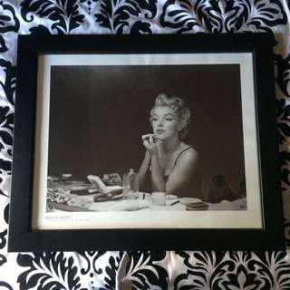 Framed Marilyn Monroe Photograph