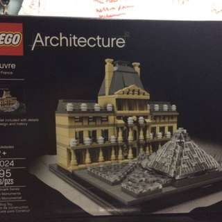 Lego Architecture The Louvre