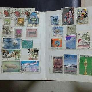 八,九十年代外國郵票