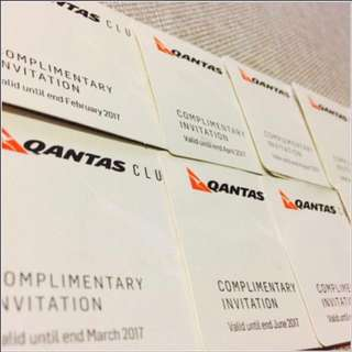 Qantas Lounges Passes-Enjoy Unlimited Refreshments Prior To Departing