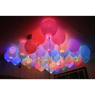 Balloon with LED ( 5 pcs per pack