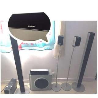 Samsung 5.1 喇叭一套