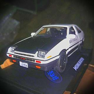 AE86 Diecast LED scale 1:28 model