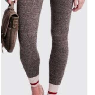 NEW PRICE! Garage Salt and Pepper Grey Sock Monkey Leggings - so soft!