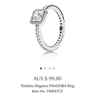 Brand New Pandora Timeless Elegance Ring