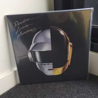 Random Access Memories- Daft Punk Record