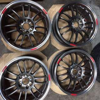 Original RAYS RE30 Clubsport 17 Inch Made In Japan
