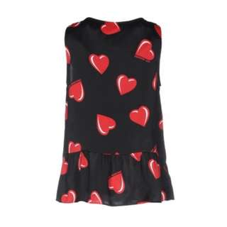 Love Moschino classic pattern top
