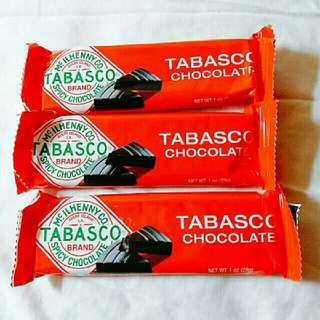 辣椒仔朱古力 Tabasco Spicy Dark Chocolate Wedges