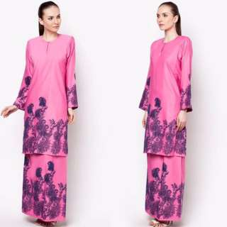 kurung luxe by ethnic chic S size fit to M colour: grey