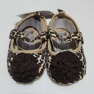 CLEARANCE SALE Mothercare Baby Girl Leopard Print Shoes