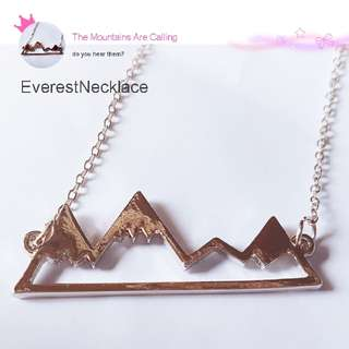 Mountain Peaks Necklace