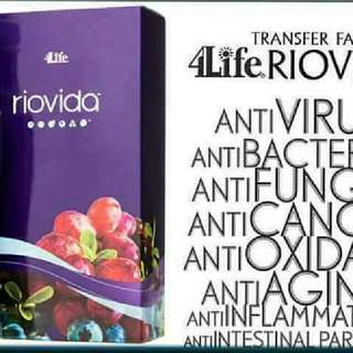 Riovida Anti-Oxidant Benefits.Anti-aging And Radiance To Beautiful Skin.