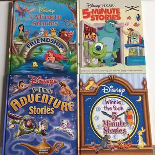 BN Disney 5 minutes storybooks