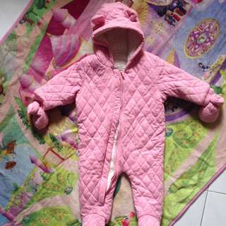 Winter Pram Suit Warm Snow Suit