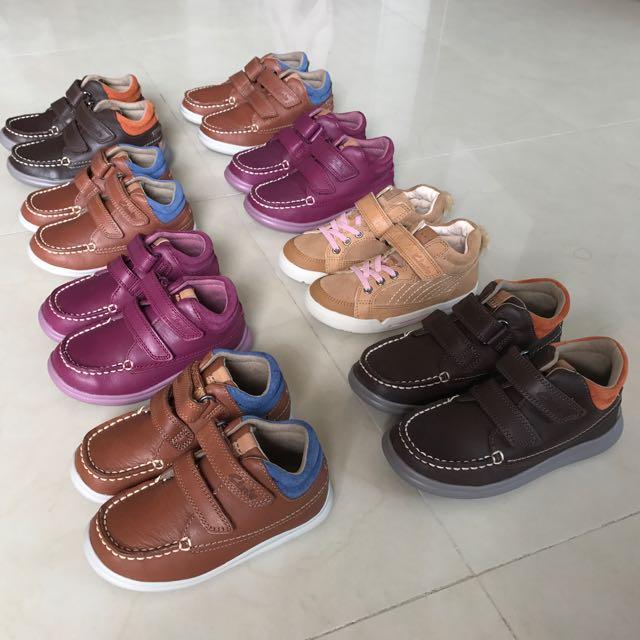 ec80fa4f3eb 100% Original brand new CLARKS Leather Kids BOOTS, Babies & Kids, Boys'  Apparel on Carousell