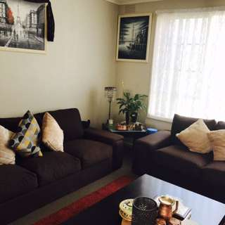 2 Seater + 3 Seater Couch including cushions