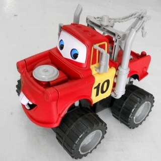 MATER (FRIEND OF MCQUEEN) BUMPER TRUCK - BUMP AND GO