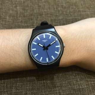 [REPRICE] SWATCH black & dark blue