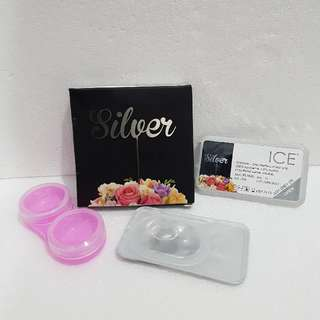 ICE Silver Softlens By Exoticon X2