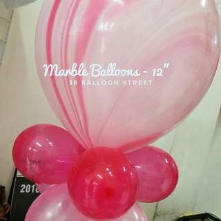 Marble Balloons - Size 12""