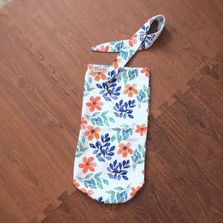 Swaddle with headband bedong instan
