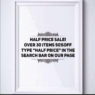 Half price!!