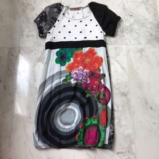 Desigual Black dress girls size 13/14