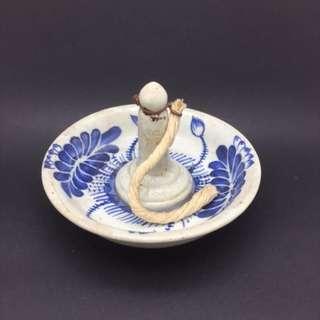 Old Porcelain Lamp