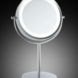5x Magnifying LED Light Cosmetic Mirror