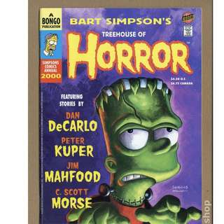 Simpsons Comics - Treehouse of Horror #6 (1995)