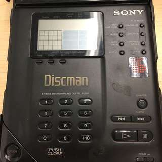 Sony D 350 CD Walkman Rare Perfect Working Condition Collection 索尼