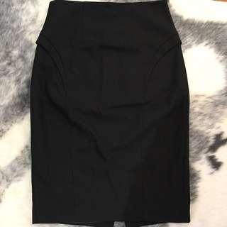 Cue, Size 10 High Waisted Skirt