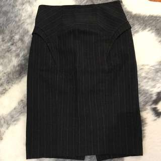 Cue, Size 10 High Waisted Corporate Skirt