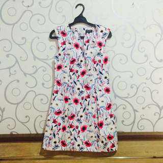 Printed Tulip Dress