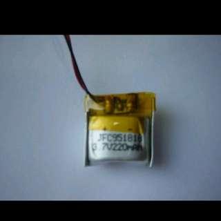 🚚 鋰聚合物電池 3.7V 220mAh 20x20x10mm 內置充放電保護板