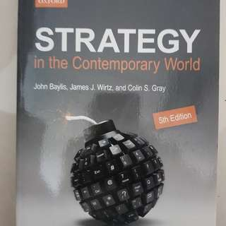 Strategy in the Contemporary World 5th edition (NEW)