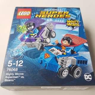 Lego BNIB 76068 Superman Vs Bizarro