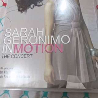 Sarah Geronimo In Motion The Concert DVD