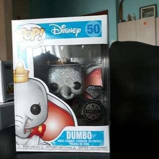 Exclusive Diamond Glitter Dumbo Funko Pop